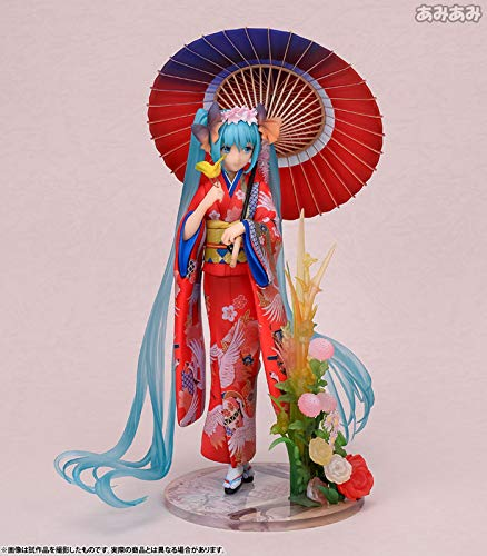 Yvonnezhang Anime Kimono Stärker Hatsune Miku Schöne Statue Figur Spielzeug