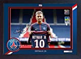 SGH SERVICES Gerahmtes Poster, Neymar Paris Saint Germain,
