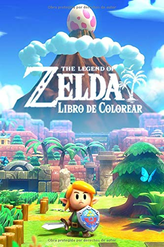 The Legend of Zelda Libro de colorear: Coloring Book for The Legend of Zelda: Link's Awakening