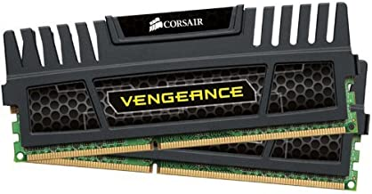 Corsair Vengeance 8 GB (2 x 4 GB) DDR3 1600 MHz PC3 12800 240-Pin DDR3 Dual Channel Memory Kit 1.5V (CMZ8GX3M2A1600C9)