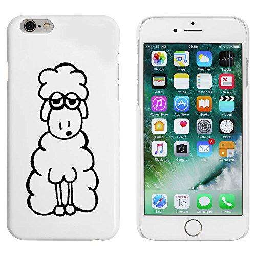 Azeeda Weiß 'Müde Schaf' Hülle für iPhone 6 u. 6s (MC00008274)