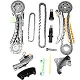 ECCPP TS20395F Timing Chain Kit Fit Ford Explorer Ranger Mustang Mercury Mazda Mountaineer 4.0l Sohc Engine Timing Chain Gear Kit 2006 2007 2008