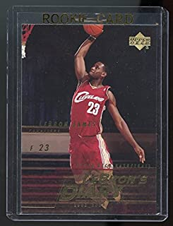 lebron's diary rookie card