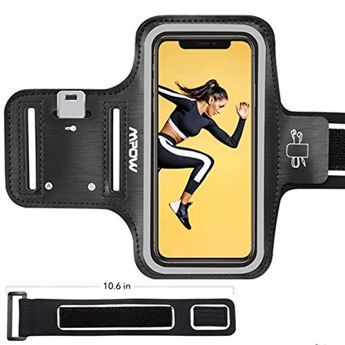Mpow Sportarmband Handy für iPhone 8/7/6 Bis Zu 5.8 Zoll, schweißfest Handy Armband Joggen mit Verlängerungsband, Sportarmband für iPhone,Huawei P20 Lite, Samsung Galaxy J5