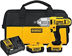 DEWALT 20V MAX Impact Wrench Kit, High Torque, Detent Pin Anvil, 1/2-Inch (DCF889M2)