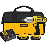 DEWALT 20V MAX Impact Wrench Kit, High Torque,...