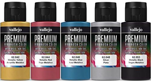 Vallejo Premium Metallic Farben-Set