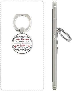 DIYthinker Ik ben volledig in liefde met u Valentijn Telefoon Ring Stand Houder Beugel Universele Smartphones Ondersteunin...