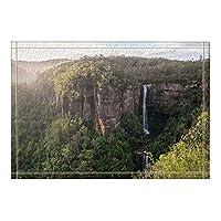 Amxxy 滝と森のある自然景色の装飾壮大な山風呂の敷物滑り止め玄関床玄関屋外屋内正面玄関マット子供用バスマット15.7x23.6inバスルームアクセサリー