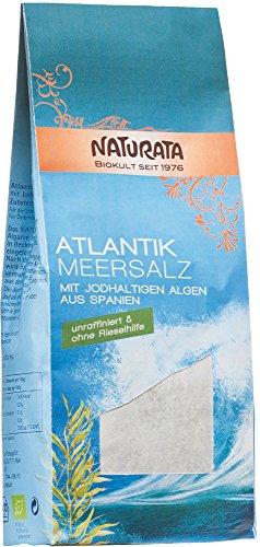 Naturata Bio Atlantik Meersalz mit jodhaltigen Bio Algen (1 x 500 gr)