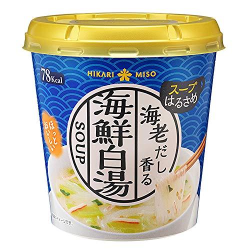 ひかり味噌カップスープはるさめ海鮮白湯1食×6本