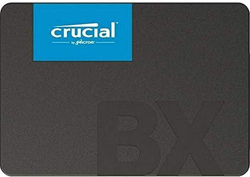 "Crucial CT480BX500SSD1 BX500 480GB 2.5"" SATA3 6Gb/s SSD- 3D NAND 540/500MB/s 7mm 1.5 mil MTBF 3yr wty Acronis True Im..."