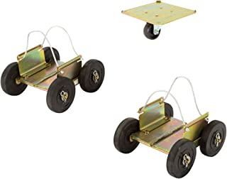 Black Ice Snowmobile Off-Road Drivable Wheel Dolly Set