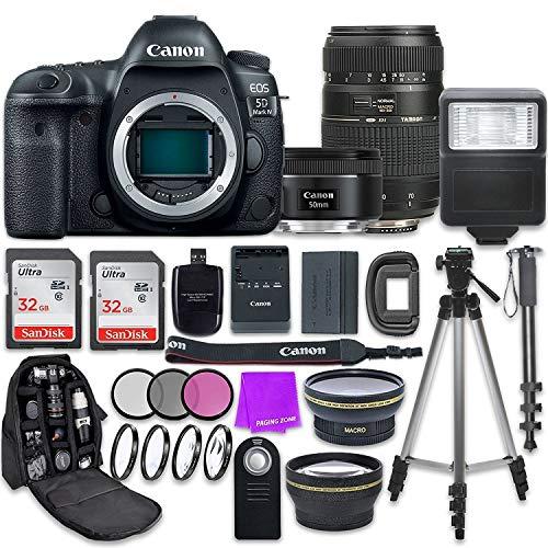 Canon EOS 5D Mark IV Digital SLR Camera with Canon...