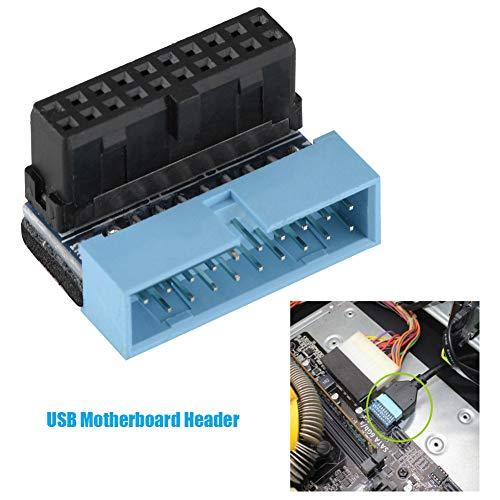 Oumij USB 3.0 interne moederbordkop - meerlaagse printplaat - Connectie moederbord - 19pins koptekst hogesnelheidssignaal verliesloze overdracht - klein formaat en licht gewicht