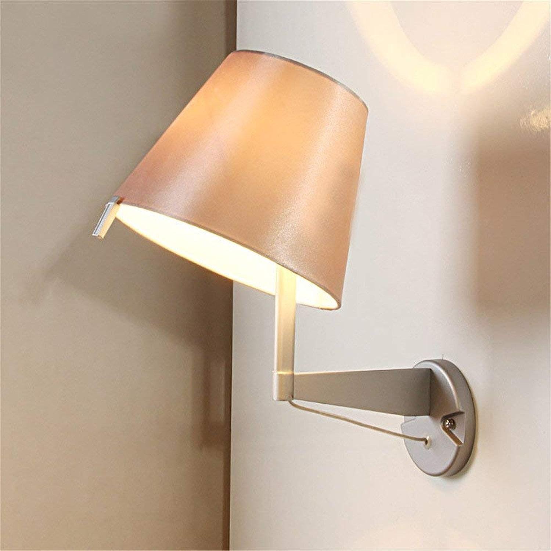 XHCP Applique Simple Moderne, Lampes de décoration de Salle de séjour de la Chambre à Coucher, Lampes en Tissu (sans Ampoules)