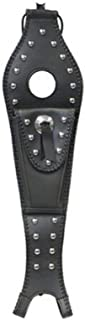 Mustang Studded 4.5 Gallon Tank Bib with Pouch for Harley Davidson 2004-13 Spor