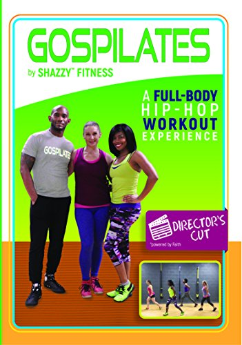 Shazzy Fitness Gospilates: Director's Cut DVD Dance Pilates Strength Training Workout - Beginner, Low Impact Faith Based Cardio Exercise Video for Adults, Women, Kids, Seniors - Christian Music