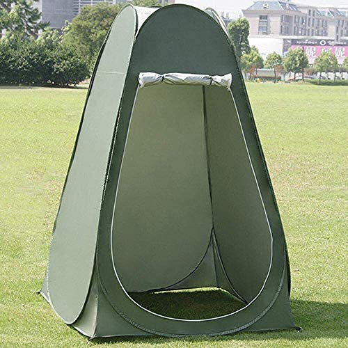 CHHD Privacy Tent for Portable Toilet Outdoor Camping Shower Tent Portable Outdoor Tent Shelter Beach Privacy Changing Room for Camping Toilet and Shower with Handy Carrying Bag Easy Set Up