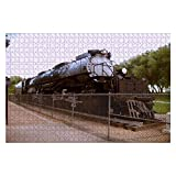 Union Pacific's Big Boy 4014 Steam Locomotive 1000 Piece Wooden Jigsaw Puzzle DIY Children Educational Puzzles Adult Decompression Gift Creative Games Toys Puzzles Home Decor