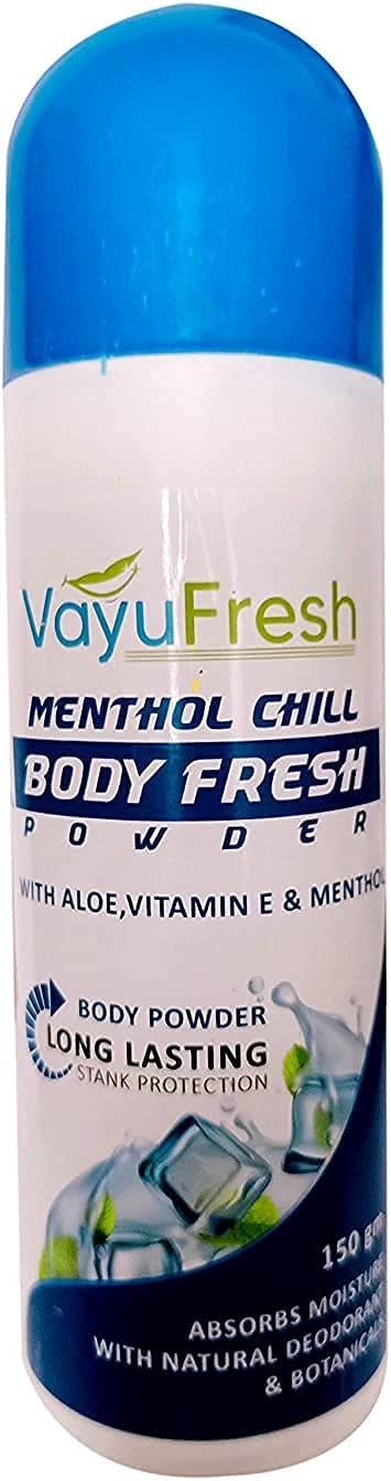 Krishna Menthol CHILL Body Fresh Men Women Directly managed store Powder G Chicago Mall 150