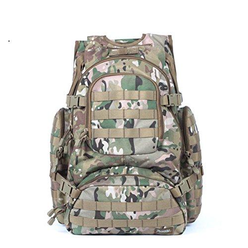 Sincere® Forfait / Sacs à dos / Portable / Ultraléger Noah ventilateurs militaires tactiques de camping sac à dos / extension du champ extérieur kits-camouflage 1 40L
