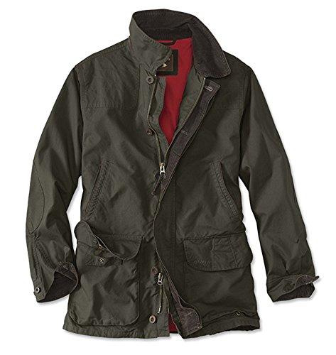 Orvis Men's Heritage Field Coat, Olive, Large