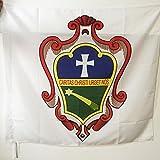AZ FLAG Flagge PALLOTTINER 90x90cm - Gesellschaft des KATHOLISCHEN APOSTOLATES Fahne 90 x 90 cm Scheide für Mast - flaggen Top Qualität