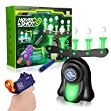 SNAEN Glow in The Dark Shooting Games for Kids, Target Practice Toys for Boys Girls Family, Hover Ball Shooting Toys with Foam Dart Toy Tool,10 Floating Ball and 10 Foam Dart
