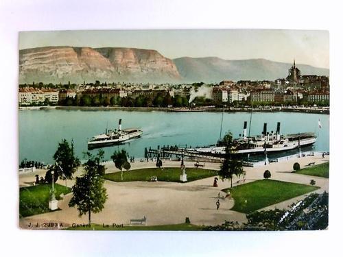 Postkarte: Genève - Le Port