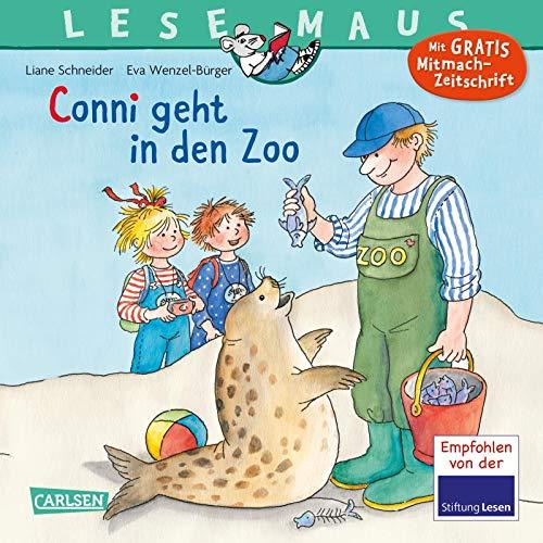 LESEMAUS 59: Conni geht in den Zoo (59): Mit Gratis Mitmach-Zeitschrift