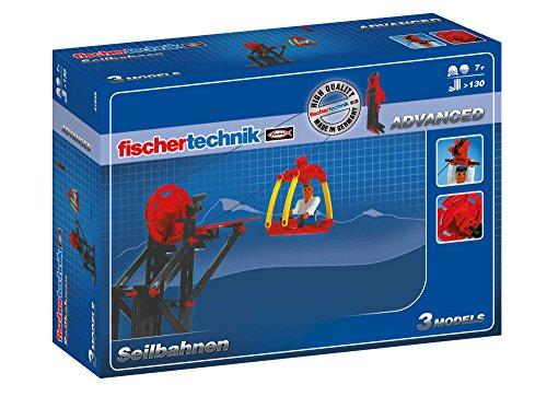 fischertechnik - 41859 ADVANCED Seilbahnen, Konstruktionsbaukasten