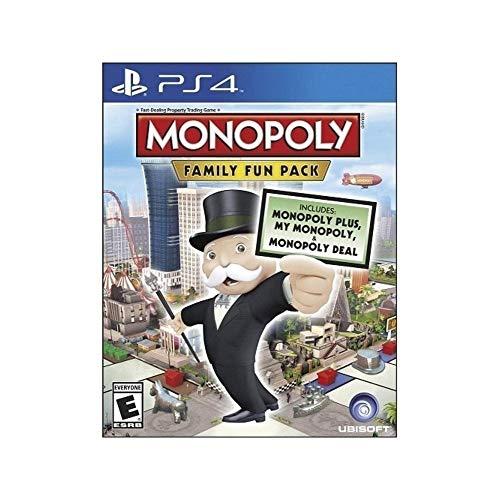 Monopoly, Pacchetto divertimento in famiglia, Ubisoft, Gioco per PS4