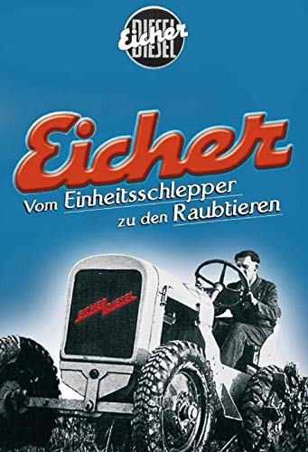 DYTrade Eicher Diesel Tractor Vintage Look - Cartel de Metal Personalizable de 8 x 12 – Bar Cafe Yard Signs House Signs