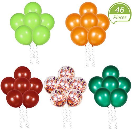 46 Stücke Waldland Luftballons Wald Themen Ballons Waldland Kreaturen Party Lieferungen Wald Party Gefallen