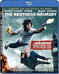 blu-ray cover for The Brothers Grimsby from sony