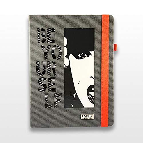 Bullet Journal-Notizbuch B5 Design Be Yourself, beeindruckende Textur, die Ihr Notizbuch zu einem Objekt von hoher Unterscheidung macht.