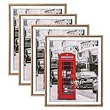 UMI. Essentials - Marcos de Madera rústica para sobremesa o Pared para Fotos de 20 x 25cm,...