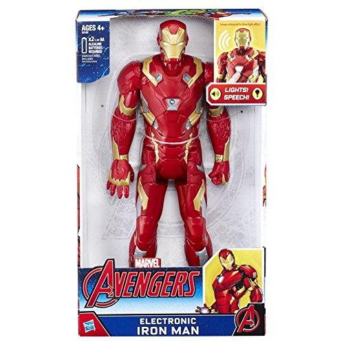 Avengers - Figura electrónica Iron Man, versión española (Hasbro C2162105): Amazon.es: Juguetes y juegos