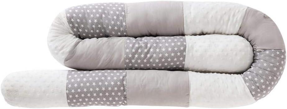 LLDWORK Safe Bumper Snake Bumper Cot Pillow for Baby 1pcs Anti-Collision Crib