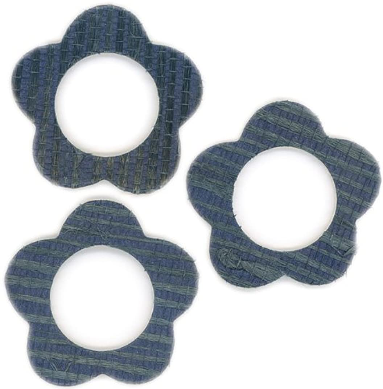 FabScraps Cardstock Mini Frames Denim/Daisy, 3 Per Package