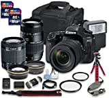 Canon EOS 80D DSLR Camera Bundle with +...