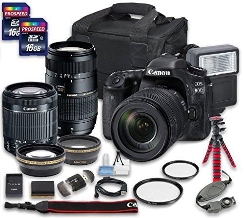 Canon EOS 80D DSLR Camera Bundle