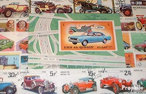 Prophila Collection Motivos 100 Diferentes Coche y Los vehículos de Motor Sellos (Sellos para los coleccionistas) el tráfico por Carretera