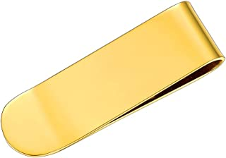Liberty University-Brushed Metal Tie Clip-Gold