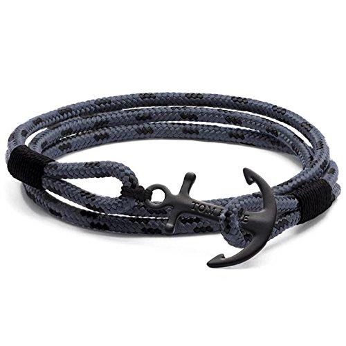 Bracelet TOM HOPE en Tissu Gris