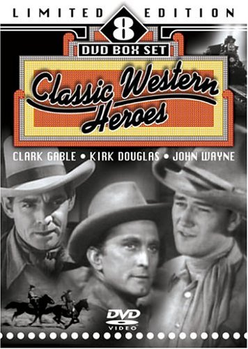 Classic Western Heroes (The Big Trees / Blue Steel / The Painted Desert / My Pal Trigger / The Outlaw / Sante Fe Trail / Daniel Boone)