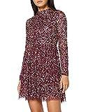 Maya Deluxe Multi Embelished Skater Dress Vestido de Dama de Honor, Multicolor, 34 para Mujer