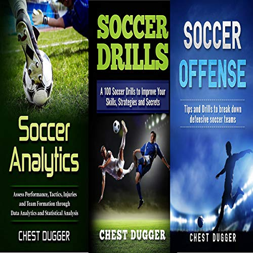 Soccer Coaching Bundle: 3 Books in 1 Audiobook By Chest Dugger cover art