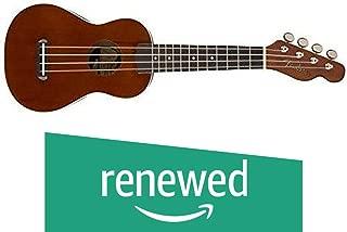 Fender Seaside Soprano Ukulele - Natural (Renewed)